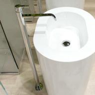 antoniolupi Bikappa BK902N Bodenauslauf für Waschbecken