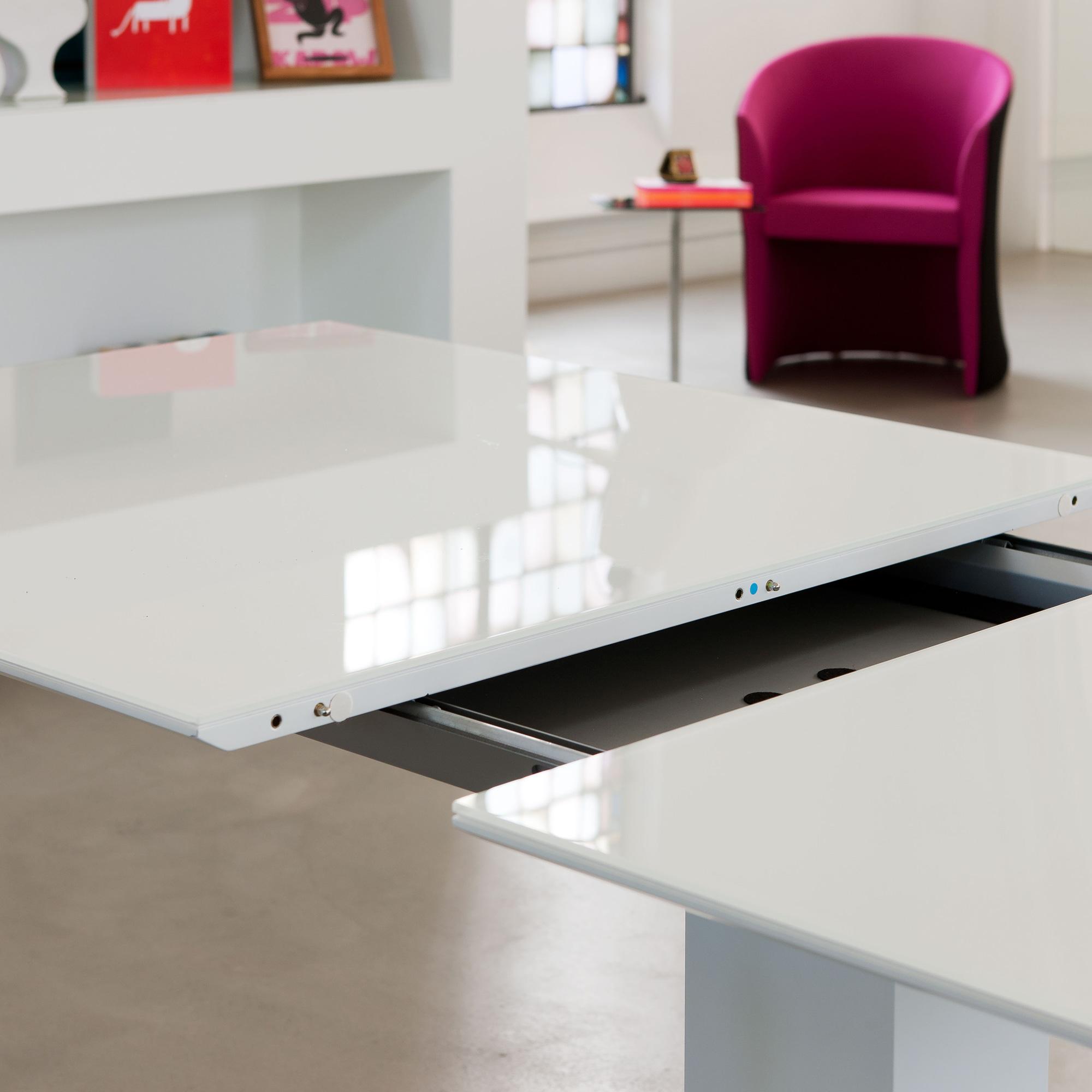 Esstisch Ausziehbar Weiß Glas | mxpweb.com