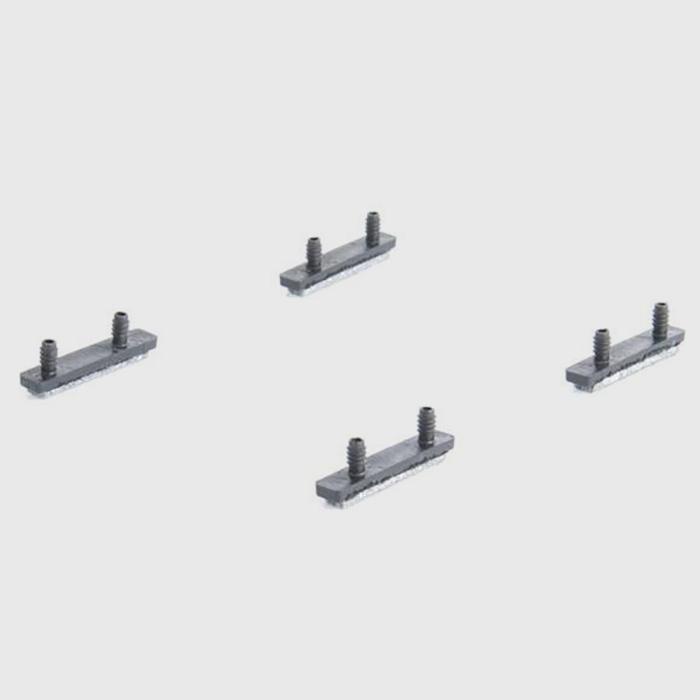 bert plantagie klemmschalengleiter d mit filz f r. Black Bedroom Furniture Sets. Home Design Ideas
