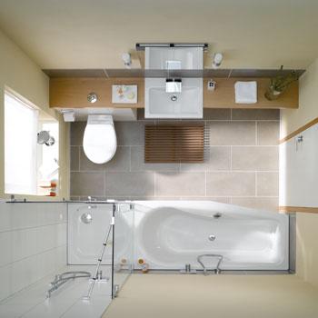 bette luna raumspar badewanne weiss betteglasur 2750 000plus reuter onlineshop. Black Bedroom Furniture Sets. Home Design Ideas