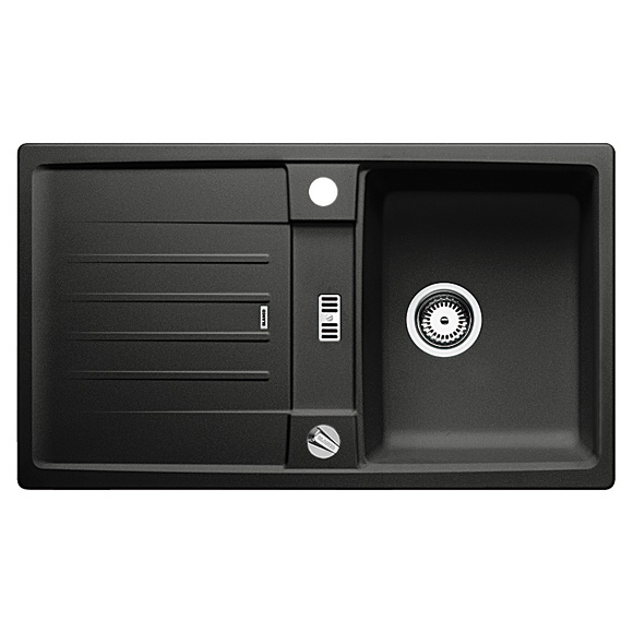 blanco lexa 45 s sp le b 86 t 50 cm becken silgranit. Black Bedroom Furniture Sets. Home Design Ideas