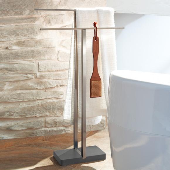 blomus menoto handtuchst nder h 860 mm edelstahl matt 68624 reuter onlineshop. Black Bedroom Furniture Sets. Home Design Ideas