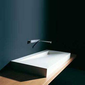 boffi folio wpflae01d waschbecken aus corian b 120 t 50 cm abflu rechts wpflae01d reuter. Black Bedroom Furniture Sets. Home Design Ideas