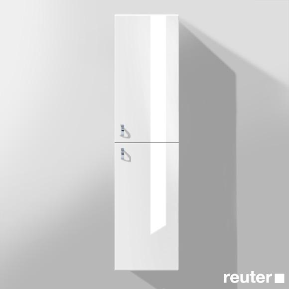 burg sinea hochschrank mit 2 t ren front wei hochglanz. Black Bedroom Furniture Sets. Home Design Ideas