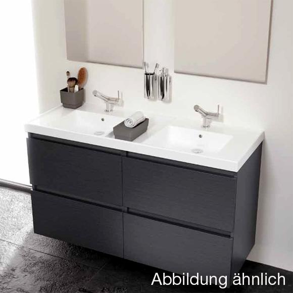 Waschbecken Cm Tiefe Mit Unterschrank: Vilstein? keramik ... | {Waschbecken mit unterschrank weiß 84}