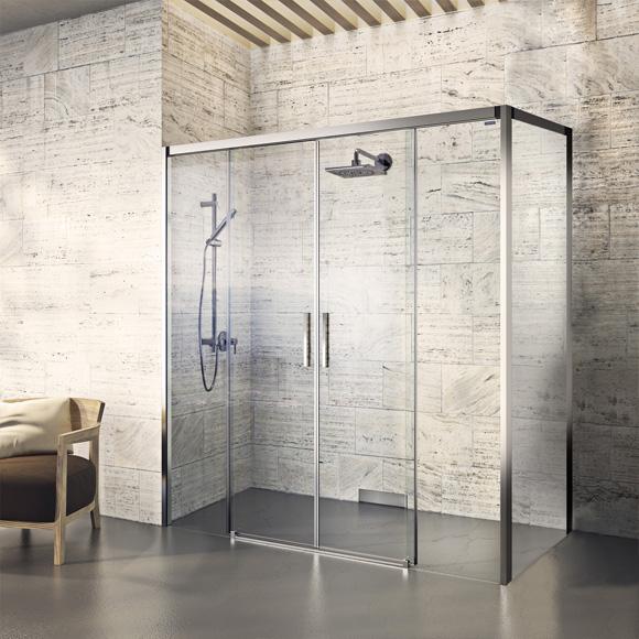 Duschkabine Duschabtrennung Dusche Neben Badewanne Pictures to pin on ...