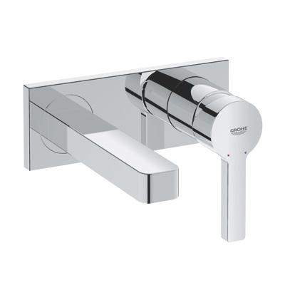 grohe lineare 2 loch waschtischbatterie wandmontage. Black Bedroom Furniture Sets. Home Design Ideas