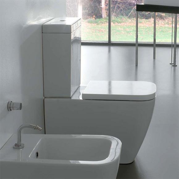 erhhtes stand wc mit splkasten amazing interessant wcs online kaufen bei obi el with toilette. Black Bedroom Furniture Sets. Home Design Ideas