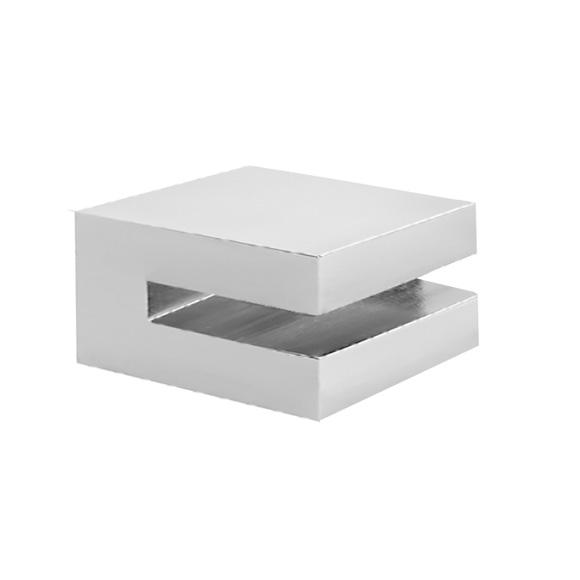 herzbach pixa halter lose f r glasplatte 6 mm. Black Bedroom Furniture Sets. Home Design Ideas