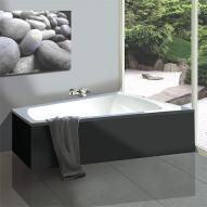 Hoesch Largo Trapez Badewanne, rechte Ausführung