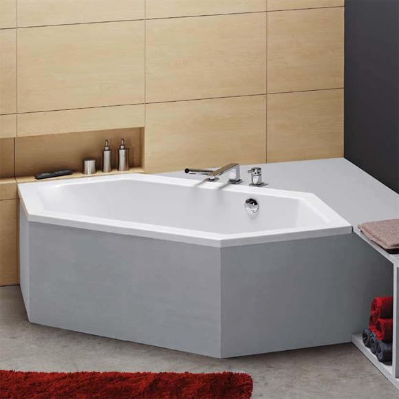 hoesch scelta sechseck badewanne berlauf links wei. Black Bedroom Furniture Sets. Home Design Ideas