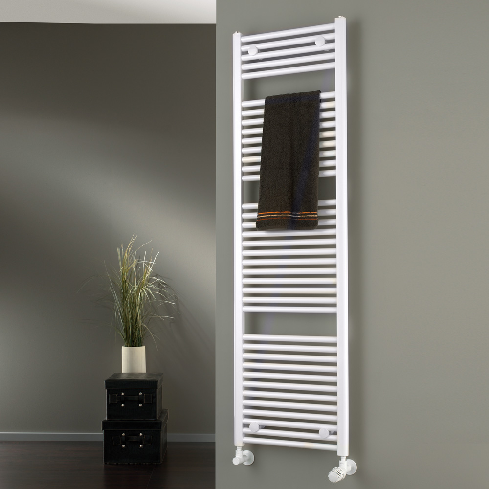 hsk badheizk rper line mit standardanschluss wei 807178. Black Bedroom Furniture Sets. Home Design Ideas