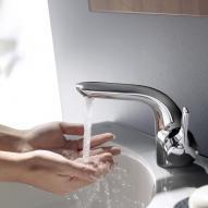 Ideal Standard Melange Einhebel-Waschtischarmatur mit flex. Schläuchen