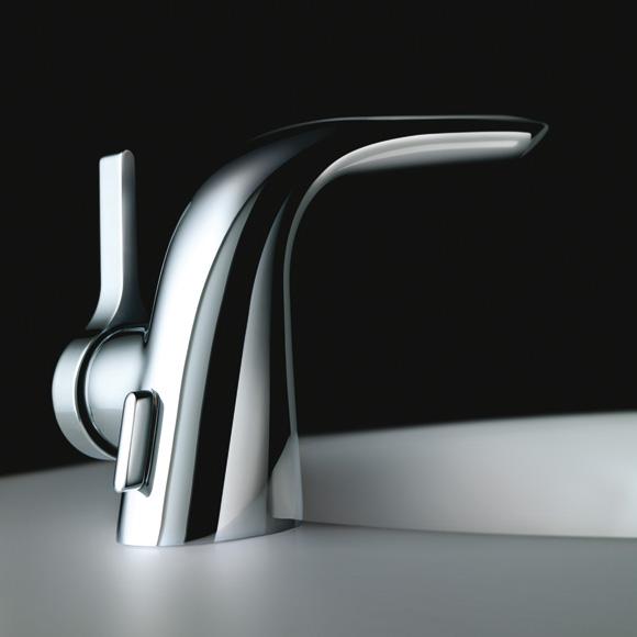 ideal standard melange einhebel waschtischarmatur mit flex schl uchen a4260aa reuter onlineshop. Black Bedroom Furniture Sets. Home Design Ideas