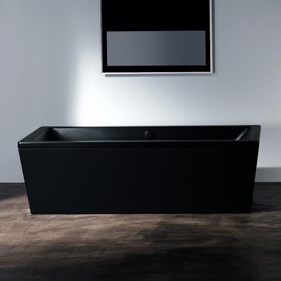 kaldewei conoduo freistehende badewanne mit verkleidung lavaschwarz matt 235248050717 reuter. Black Bedroom Furniture Sets. Home Design Ideas
