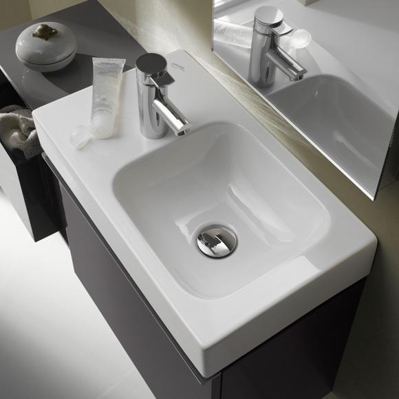 keramag icon xs handwaschbecken wei mit keratect. Black Bedroom Furniture Sets. Home Design Ideas