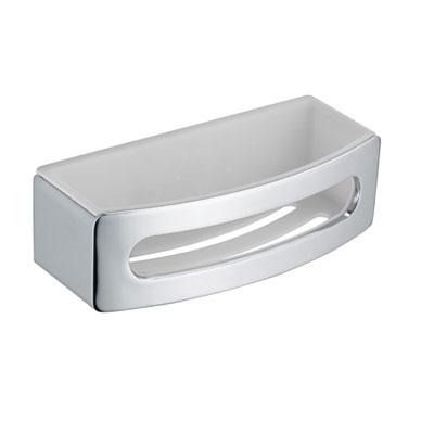 keuco elegance schwammkorb chrom wei 11658010000. Black Bedroom Furniture Sets. Home Design Ideas