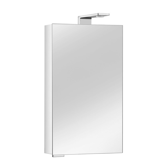 keuco royal universe spiegelschrank mit 1 t r t ranschlag. Black Bedroom Furniture Sets. Home Design Ideas