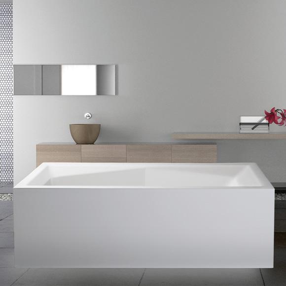 mauersberger duoformis freistehende rechteck badewanne 6018080101 reuter onlineshop. Black Bedroom Furniture Sets. Home Design Ideas