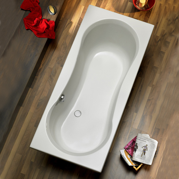 ottofond delphi rechteck badewanne ohne wannentr ger. Black Bedroom Furniture Sets. Home Design Ideas
