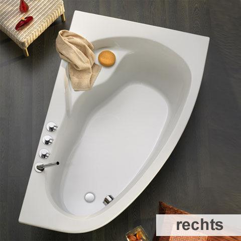 ottofond loredana badewanne ausf hrung rechts 860201. Black Bedroom Furniture Sets. Home Design Ideas