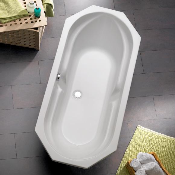 ottofond sicilia achteck badewanne wei ohne wannentr ger 981001 reuter onlineshop. Black Bedroom Furniture Sets. Home Design Ideas