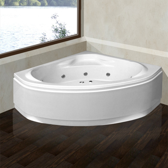 reuter kollektion komfort eck whirlwanne mit whirlsystem premium mit ab und berlaufgarnitur. Black Bedroom Furniture Sets. Home Design Ideas