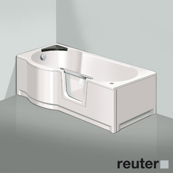 badewanne mit duschzone badewanne mit duschzone und. Black Bedroom Furniture Sets. Home Design Ideas