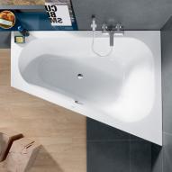 Villeroy & Boch Loop & Friends Eck Badewanne, Ausführung rechts weiß