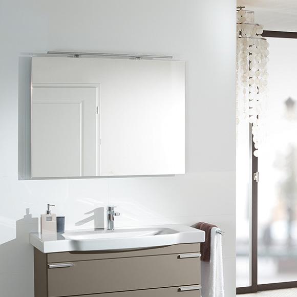 villeroy boch more to see spiegel mit led beleuchtung a4041000 reuter onlineshop. Black Bedroom Furniture Sets. Home Design Ideas