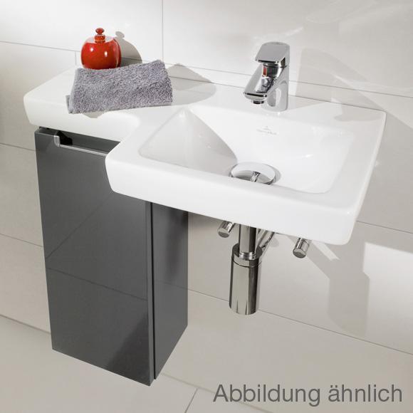 villeroy boch subway 2 0 handwaschbecken unterschrank mit 1 t r seitlich ulme impresso. Black Bedroom Furniture Sets. Home Design Ideas