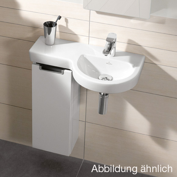 villeroy boch subway 2 0 handwaschbecken unterschrank mit 1 t r seitlich santana oak. Black Bedroom Furniture Sets. Home Design Ideas