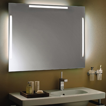 zierath spiegel verona led hinterleuchtet b 160 h 80 cm veronaled16080 reuter onlineshop. Black Bedroom Furniture Sets. Home Design Ideas